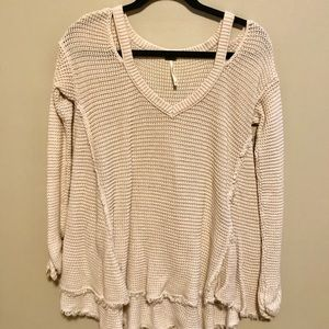 Free People | White Sweater (XS)